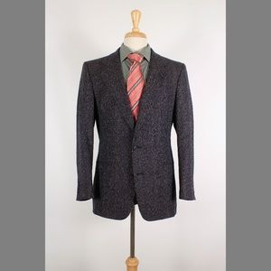 Christian Dior 39R Navy Sport Coat B268